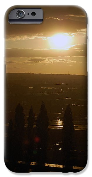 Dresden At Sunset IPhone Case by Peter Cassidy