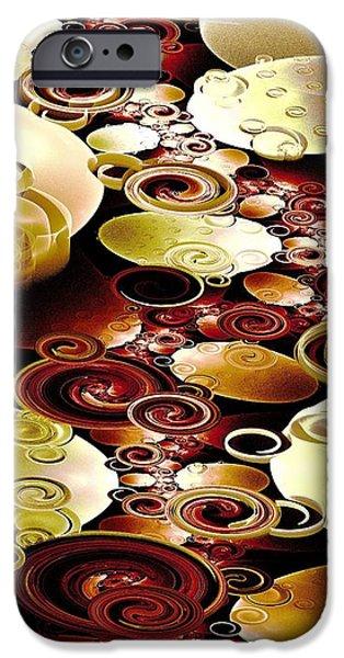 Drops And Ripples IPhone Case by Anastasiya Malakhova