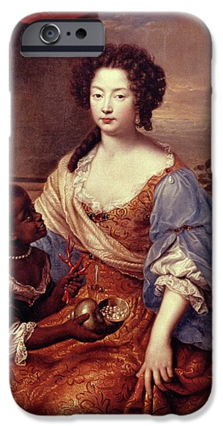 Duchess Of Portsmouth (1649-1734) IPhone Case by Granger