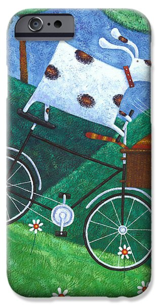 Dukes Bike Ride IPhone Case by Peter Adderley
