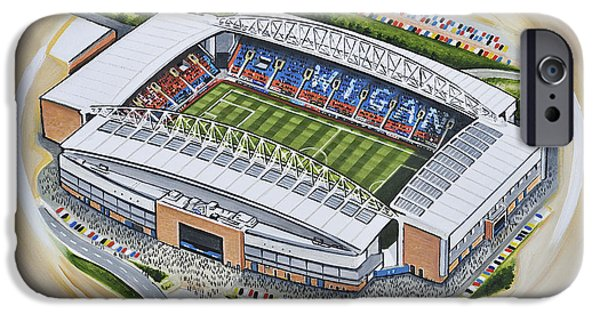 Dw Stadium - Wigan Athletic IPhone Case by D J Rogers