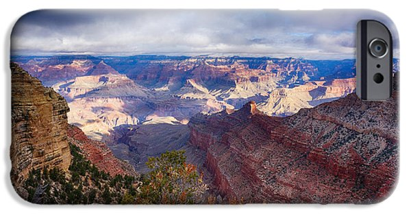 Early Clouds Over Hopi Point IPhone Case by Lisa  Spencer