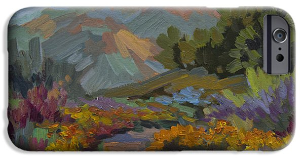 Early Morning Light Santa Barbara IPhone Case by Diane McClary