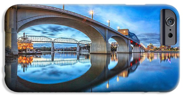 Early Morning Under Market Street Bridge IPhone Case by Steven Llorca