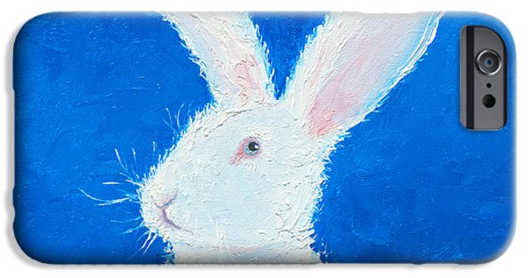 Easter Bunny IPhone 6s Case by Jan Matson
