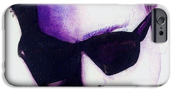 Eddie Van Halen IPhone Case by Anthony DeCilio