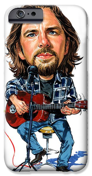 Eddie Vedder IPhone Case by Art