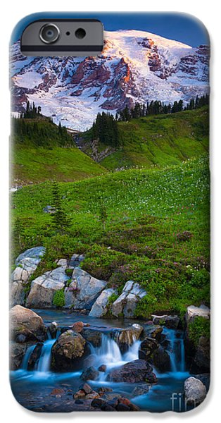 Edith Creek IPhone Case by Inge Johnsson