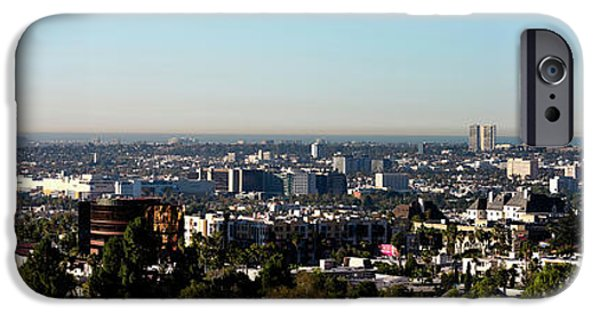 Elevated View Of City, Los Angeles IPhone 6s Case by Panoramic Images