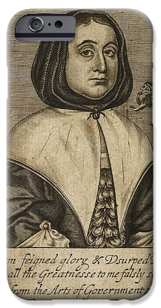 Elizabeth Cromwell IPhone Case by British Library
