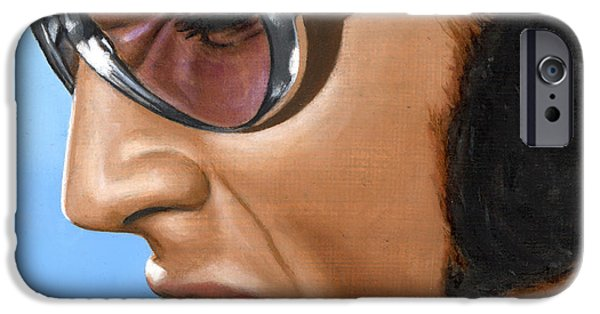 Elvis 24 1970 IPhone Case by Rob De Vries