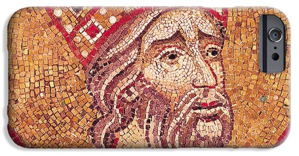 Emperor Constantine I IPhone Case by Byzantine School