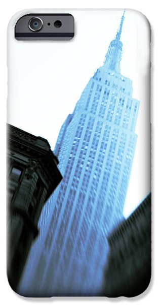 Empire State Building IPhone Case by Dave Bowman