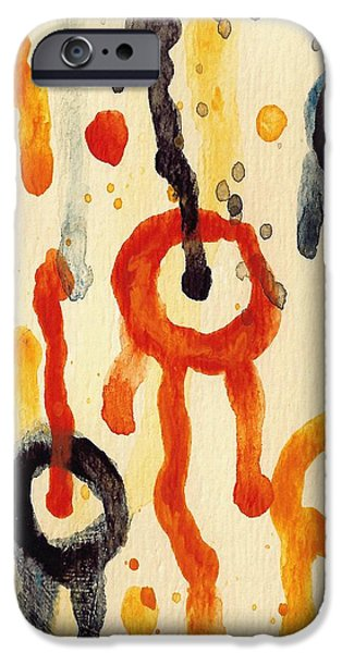 Encounters 2 IPhone Case by Amy Vangsgard