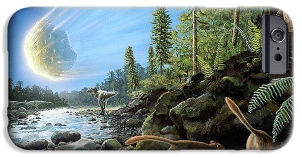 End Of Cretaceous Kt Event IPhone Case by Richard Bizley