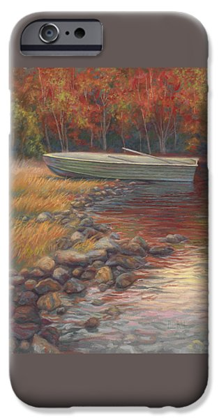 End Of The Day IPhone Case by Lucie Bilodeau