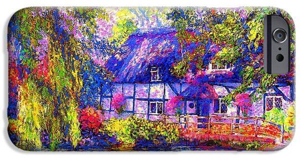 English Cottage IPhone 6s Case by Jane Small