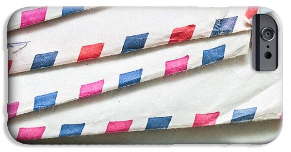 Envelopes IPhone Case by Tom Gowanlock