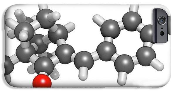 Enzacamene Sunscreen Molecule IPhone Case by Molekuul
