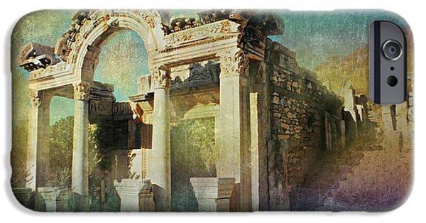 Ephesus Turkey IPhone Case by Diana Angstadt