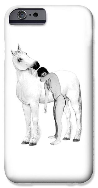 Equus  IPhone Case by Joaquin Abella