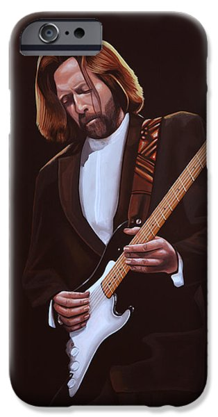 Eric Clapton Painting IPhone 6s Case by Paul Meijering