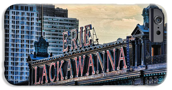 Erie Lackawanna Station Hoboken IPhone Case by Paul Ward