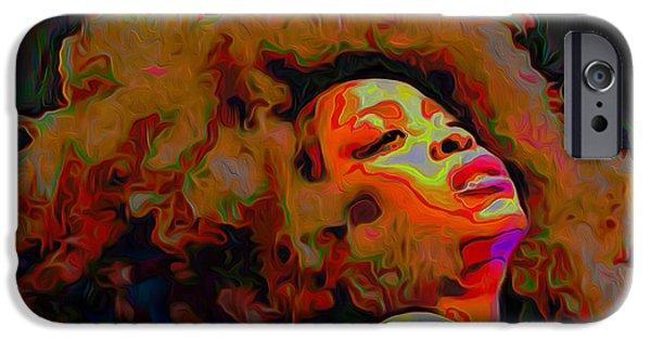 Erykah Badu IPhone 6s Case by  Fli Art