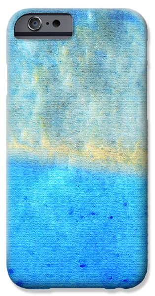 Eternal Blue - Blue Abstract Art By Sharon Cummings IPhone Case by Sharon Cummings