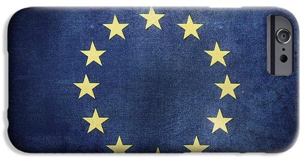 European Union IPhone Case by Les Cunliffe