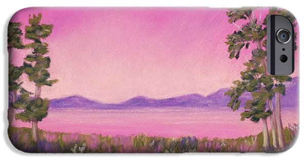 Evening In Pink IPhone Case by Anastasiya Malakhova