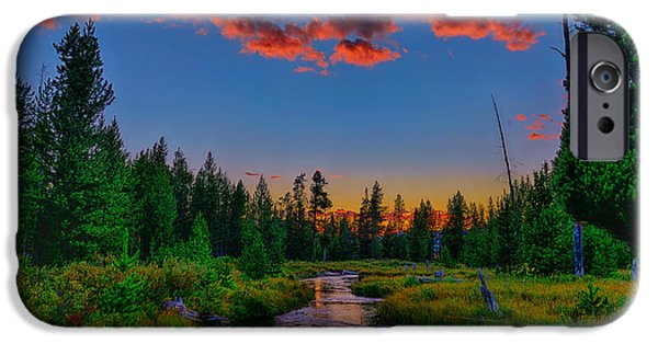Evening On Lucky Dog Creek IPhone Case by Greg Norrell