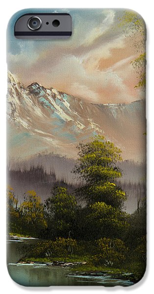Evenings Glow IPhone Case by C Steele