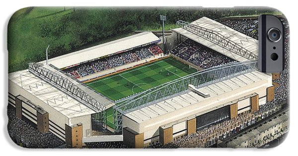 Ewood Park - Blackburn Rovers IPhone Case by Kevin Fletcher