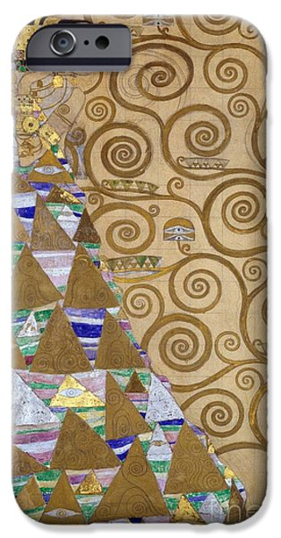 Expectation Preparatory Cartoon For The Stoclet Frieze IPhone Case by Gustav Klimt