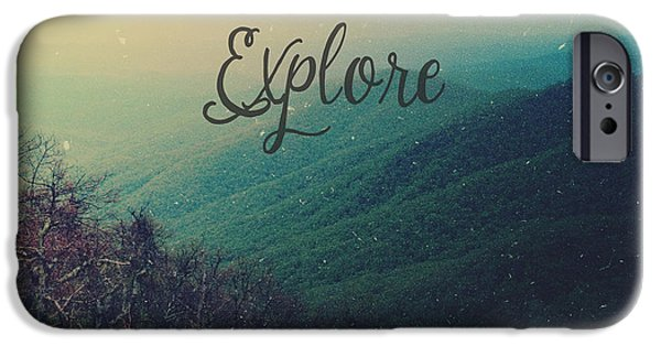 Explore IPhone Case by Joy StClaire