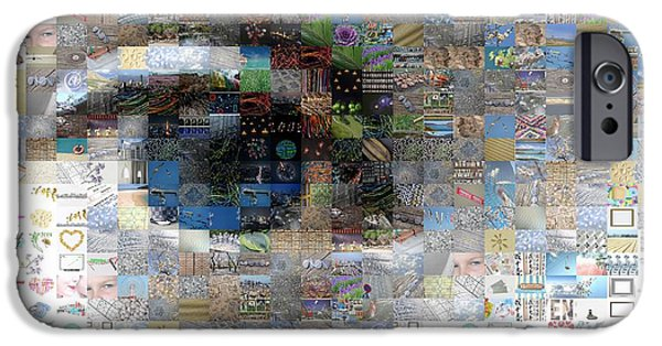 Eye Mosaic IPhone Case by Delphimages Photo Creations