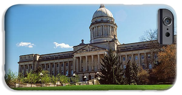 Facade Of State Capitol Building IPhone Case by Panoramic Images