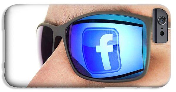 Facebook IPhone Case by Daniel Sambraus