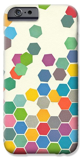 Falling Down IPhone Case by Cassia Beck