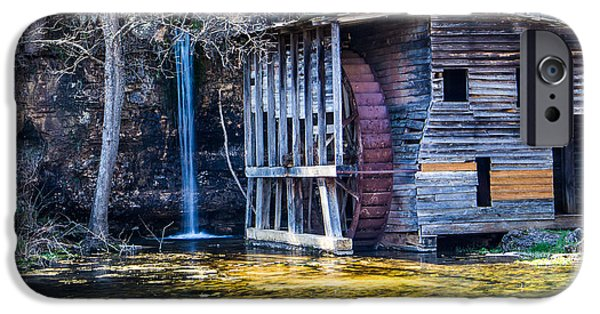 Falling Spring Mill IPhone Case by Steven Bateson