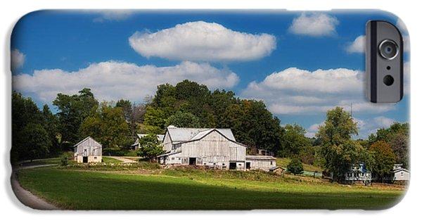 Family Farm IPhone Case by Tom Mc Nemar