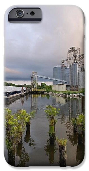 Feed Mill On The River IPhone Case by Francie Davis