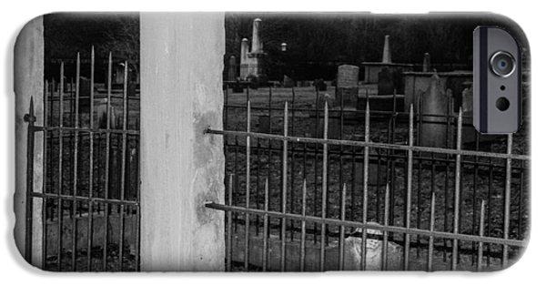 Fenced In IPhone Case by Robert Hebert