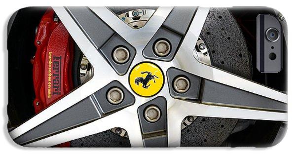 Ferrari Alloy IPhone Case by Dutourdumonde Photography