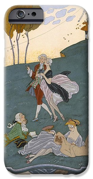 Fetes Galantes IPhone 6s Case by Georges Barbier