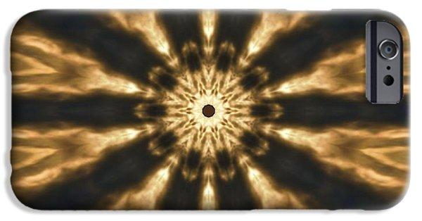 Fiery Explosion IPhone Case by Dan Sproul
