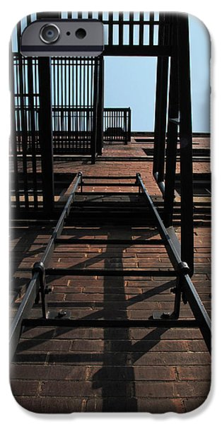 Fire Escape  IPhone Case by Don Spenner