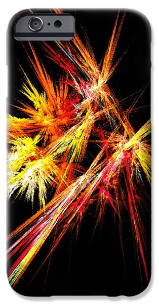 Fireworks IPhone Case by Anastasiya Malakhova