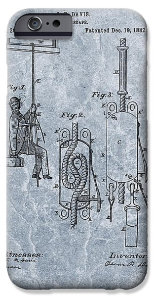 First Fire Escape Patent IPhone Case by Dan Sproul